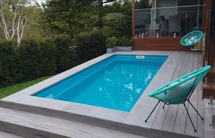 Small Plunge Pools Sydney Melbourne Brisbane Small Backyard Pools Swimming Pool Landscaping Plunge Pool