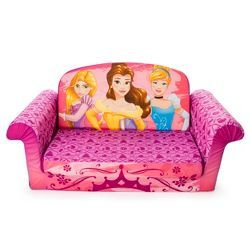Marshmallow Furniture Children S 2 In 1 Flip Open Foam Sofa Minnie
