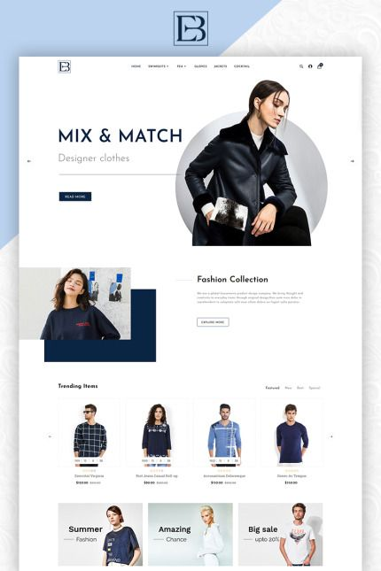 Designer Clothing Fashion Online Store Opencart Webtemplate Themes Business Responsive Templ Fashion Web Design Web Layout Design Website Design Layout