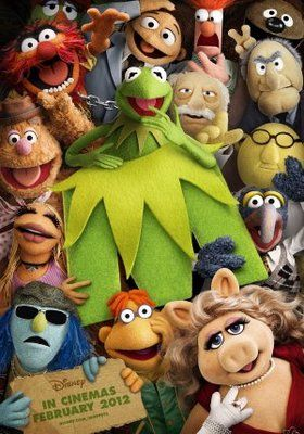 The Muppets 2011 Movie Poster Tshirt Mousepad
