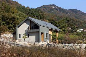 자연과 전통이 한곳에서 만나는 전원주택 산청 산들바람집 호미파이 Homify 작은 집 목조 주택 디자인 집 건축