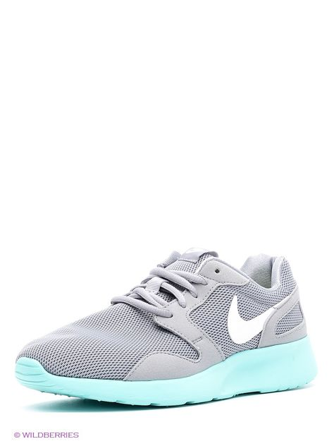 best sneakers 02b3c 45f98 Кроссовки WMNS NIKE KAISHI Nike. Цвет серый, бирюзовый.