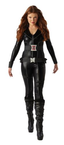 Avengers Superhero Ladies Costumes Comic Book Movie Womens Halloween Fancy Dress