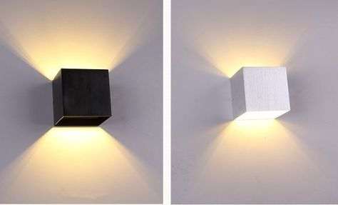 U ac pcs led applique applique lumière moderne loft escaliers