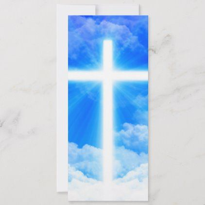 Cross Of Light Jesus Christ Customizable Christian Card Zazzle Com In 2020 Christian Holiday Card Christian Cards Jesus Christ