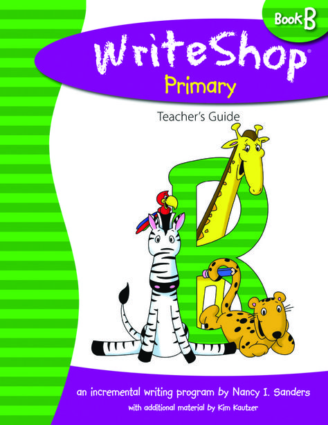 Review of WriteShop Primary Book B - I am very impressed with this product