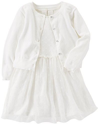 Carters Baby-Girls Special Occasion Dress with Cardigan