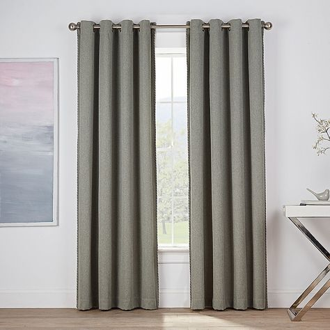 Montgomery 108 Grommet Window Curtain Panel In Sage Panel
