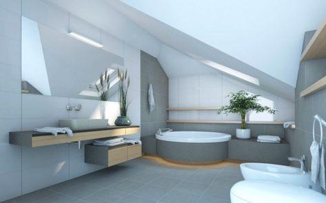 12 Moderne Badezimmer Designs Fur Ihren Dachboden Mit Bildern
