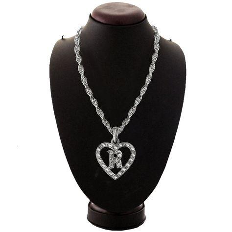 Elegant Silver R Alphabate Fashion Pendant Alphabet Pendant Gold Toned Alphabet Pendant With Cz Embellishments Buy Pendan Pendants Chain Pendants Gold Pendant
