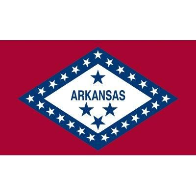 Arkansas Flag Industrial Polyester Products Flag Arkansas