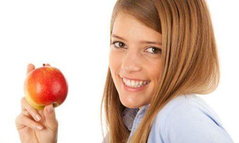 طرق طبيعية لزيادة إنتاج هرمون النمو In 2020 Food Fruit Apple