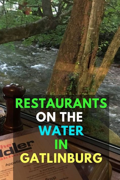 Everyone loves dinner with a great view. There's something about shimmering water and clean air that really brings the evening together, and Gatlinburg has its fair share of waterfront restaurants. So as you wrap up each evening in your Smoky Mountain hideaway, check out these great Gatlinburg restaurants on the water.