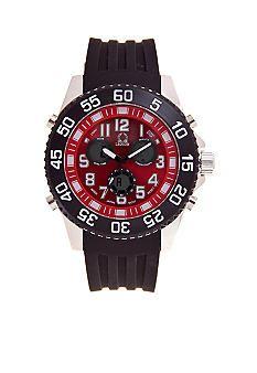 Legion Black Rubber Strap Watch #belk #gifts #men