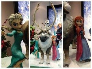 Disney's Frozen Cake Made for Walt Disney London by Sweet Sugar Cakes  Tons of Party Ideas @ www.partyz.co