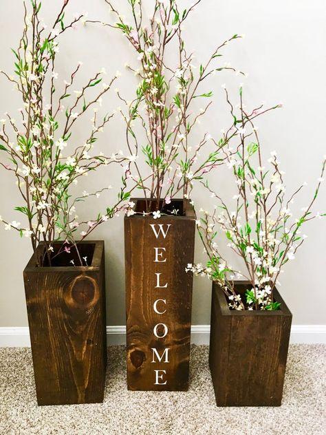 Floor Vases Farmhouse Decor