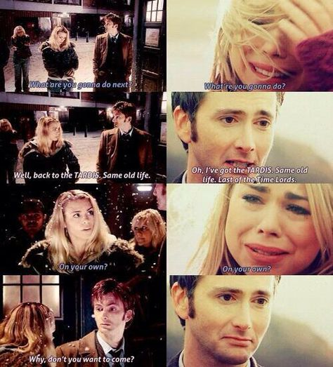 I hate Rose. and I hate the writers of Doctor Who for making a 900 year old wizened man fall for an immature and selfish girl like Rose. it was the most bullshit plot Doctor Who has ever had Doctor Who, 10th Doctor, Rose Tyler, Dr Who, Benedict Cumberbatch, Crossover, The Maxx, Netflix, My Sun And Stars