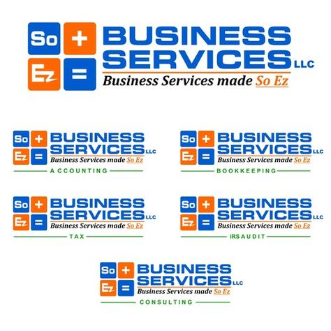 Soez Business Services Llc Create A Modern Professional Look That Projects Ease Care And Tech Friendliness Our Business Bookkeeping Business Financial Logo