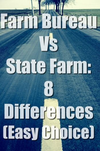 Farm Bureau Vs State Farm Farm Bureau Insurance Compare