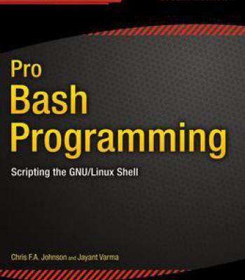 Pro Bash Programming Pdf