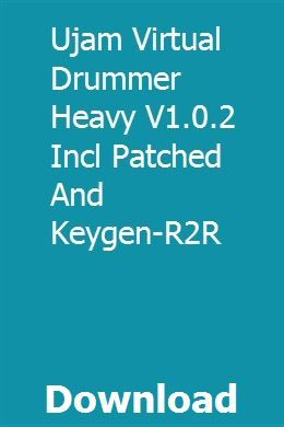 Ujam Virtual Drummer Heavy V1 0 2 Incl Patched And Keygen