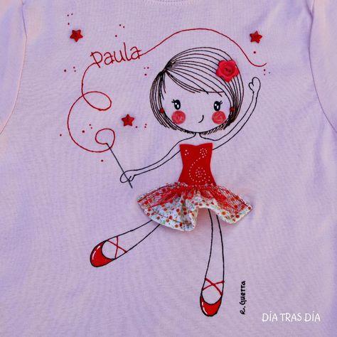 Camiseta de niña Dia tras día