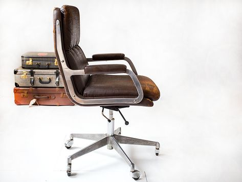 Artifort Bureaustoel Vintage.Geoffrey Harcourt Bureaustoel Vintage Stoelen