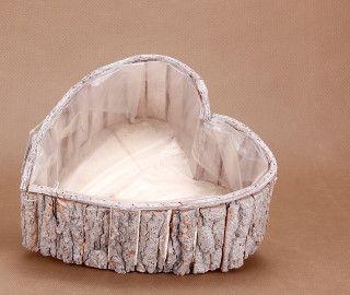 Oslonka Z Kory Serce 11 27cm Decor Furniture Bassinet