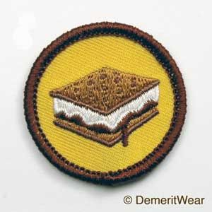 S'mores Merit Badge