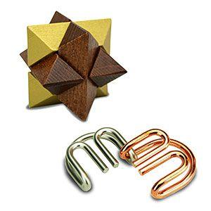 True Genius Pocket Puzzles Thinkgeek Unique Gifts For Him