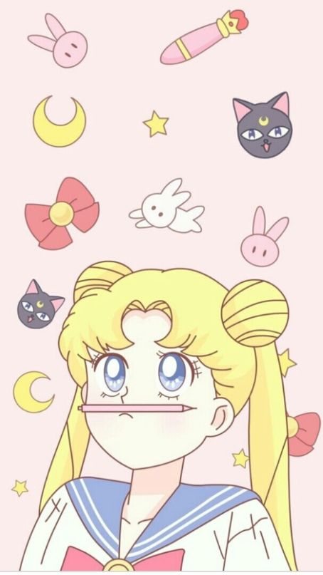 Mywalls With Images Sailor Moon Wallpaper Sailor Moon Aesthetic Sailor Moon Tumblr