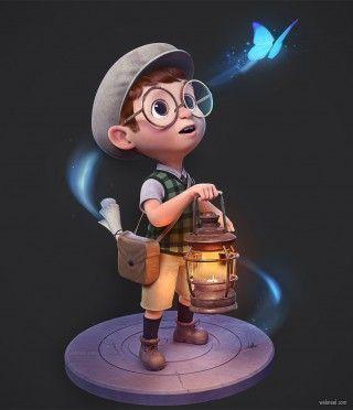 3d Character Realistic Character Realistic 3d Charakter