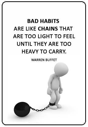Quotations About Habits
