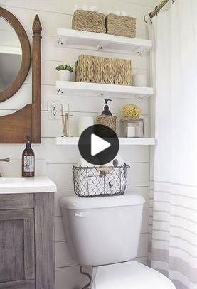 Small Master Bathroom Makeover On A Budget Bathroom Makeovers On A Budget Master Bathroom Makeover Small Master Bathroom Shelves Over Toilet Diy Bathroom Makeover Diy Bathroom Storage