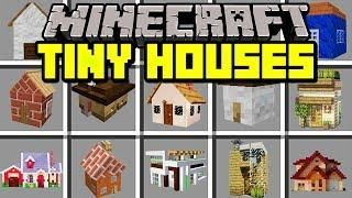 Minecraft Tiny Houses Mod Build And Live Inside World S Smallest Houses Modded Mini Game Minecraft Mods Minecraft Mini Games