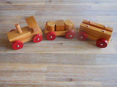 Dachbodenfund Ddr Spielzeug Eisenbahn Holz Eur 1 00 Spielzeug