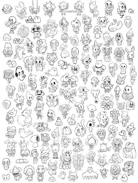 Every Character In Undertale R Undertale Designs Coloring Books Coloring Pages Coloring Books
