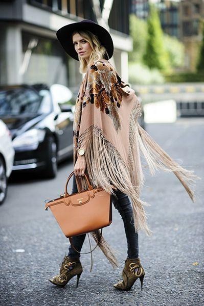 Winter Boho Style Clothing