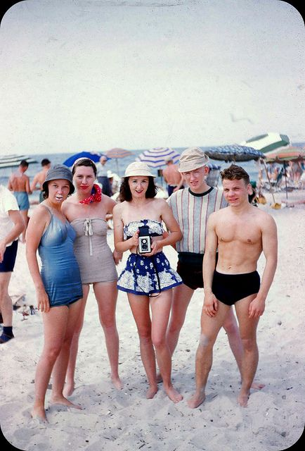 Rockaway Beach NY - Summer 1950
