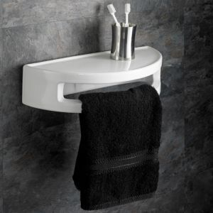 Wall Hung Corner Bathroom Basin In White Ceramic Width 660mm Large Sink Prato In 2020 Wash Basin Floating Bathroom Sink Basin