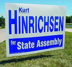 Political Cardboard Yard Signs Double Sided Frame Included 16 X 26 Great Politics Frame Business Planning