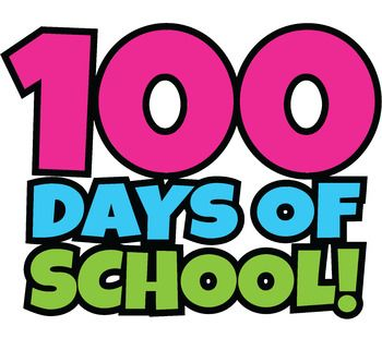 Free 100 Days Of School Clipart Happy 100th Day Of School Clip Art School Clipart 100 Days Of School 100th Day