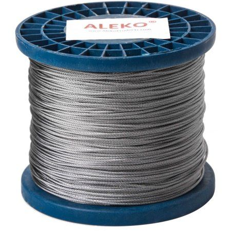 Home Improvement Galvanized Steel Cable Wire Steel