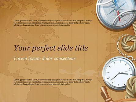 Adventure Background PowerPoint Template | PowerPoint
