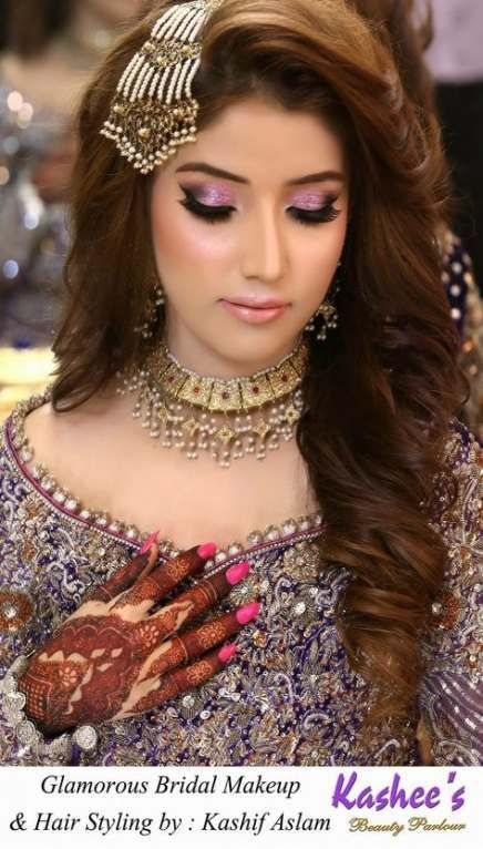 21 New Ideas For Muslim Bridal Hairstyles Indian Bridal Hairstyles Ideas Indian Musli Indian Hairstyles Bridal Hairstyles With Braids Mehndi Hairstyles