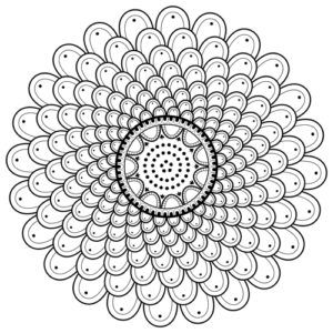 The Designs In This Mandala Coloring Page Form A Spiral Free To Print Out And Color In Art By The Mand Mandala Coloring Mandala Coloring Pages Coloring Pages