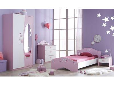 Armoire 2 Portes Papillon Chambre Enfant Deco Chambre Enfant Chambre Enfant Contemporaine