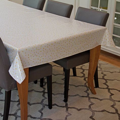 Oilcloth Tablecloth Laminated Cotton Waterproof Coated Table Cloth