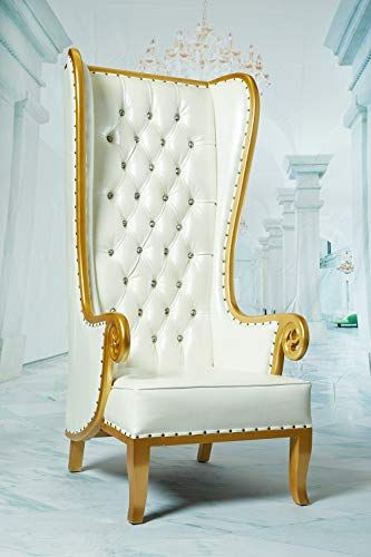 Astounding Royal Wing High Back Throne Chair King Queen Wedding Throne Gamerscity Chair Design For Home Gamerscityorg