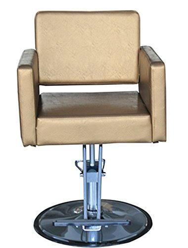 Shengyu Classic Hydraulic Barber Chair Styling Salon Beauty Round Base Gold Chair Beauty Chair Salon Chairs
